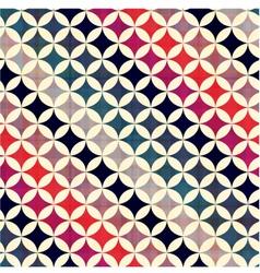 seamless geometric circles pattern vector image vector image