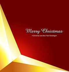 simple christmas background vector image vector image