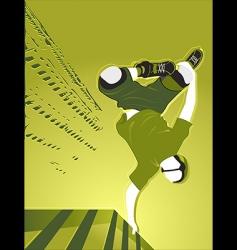 urban skating vector image