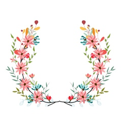 banners floral frames and graphic elements vector image