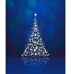 Christmas background blue 2311 01 vector