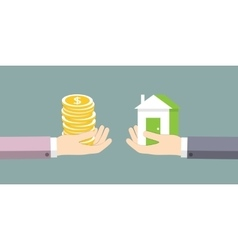 The exchange of house on the money vector