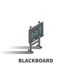 blackboard icon symbol vector image vector image