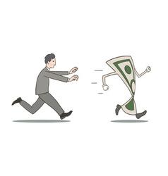 Chasing money vector