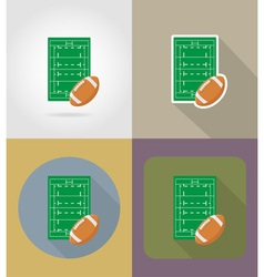 sport flat icons 66 vector image