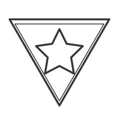 Superhero superman star design vector