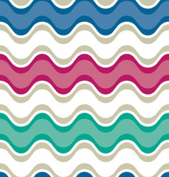 Saddle wave seamless background pattern vector