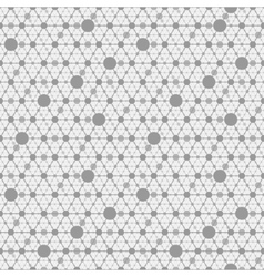 Network gray background vector