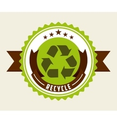 Eco friendly design vector