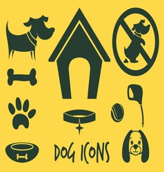 animal icons2 vector image vector image