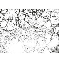 distressed overlay texture of dust metal cracked vector image vector image