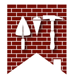 House construction symbol vector