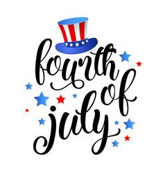 Fourth of july independence day of united states vector