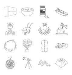Education medicine fashion and other web icon in vector