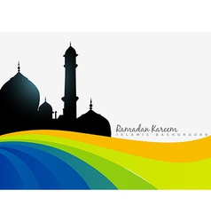 Ramazan background vector
