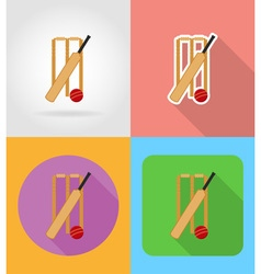sport flat icons 03 vector image vector image