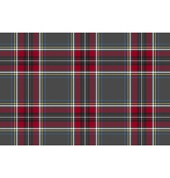 Gray red check texture background seamless pattern vector