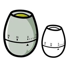 Egg Timer vector image