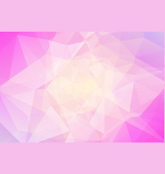 Abstract horizontal triangle background vector