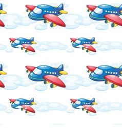 An airplane vector