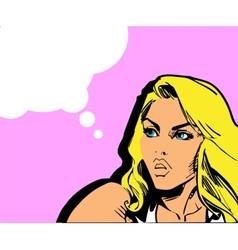 Comics vector image vector image