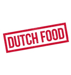 Dutch food rubber stamp vector
