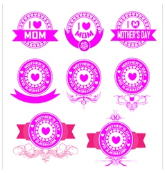 Banner mothers day vector