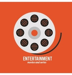 Entertainment icons design vector
