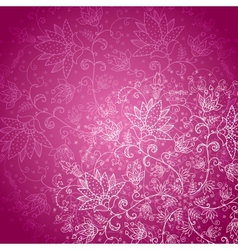 crimson background with white lace vector image vector image