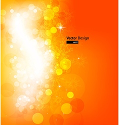 Sparkling christmas background vector