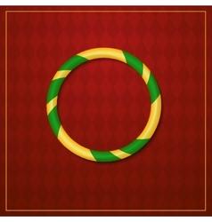 Acrobat logo circus design vector