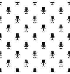 Office chair pattern vector