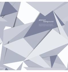 Origami geometric background vector image