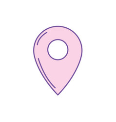 Symbol ubication to explore map location vector
