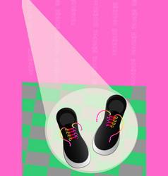 Vans shoes vector