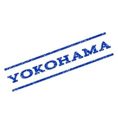 Yokohama watermark stamp vector