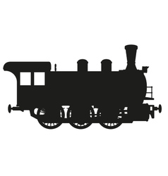 Steam locomotive vector