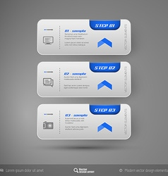 Business stickers vector