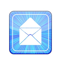 version Mail icon Eps 10 vector image vector image