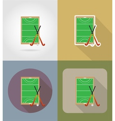 Sport flat icons 67 vector