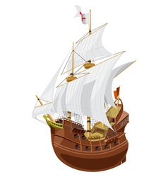 Galleon vector