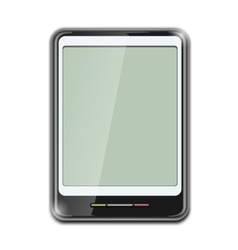 Electronic clipboard icon vector