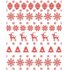 Christmas Sweater Design vector image