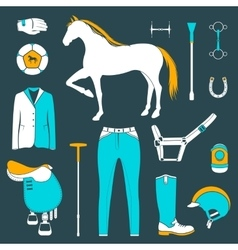 set of icons polo vector image