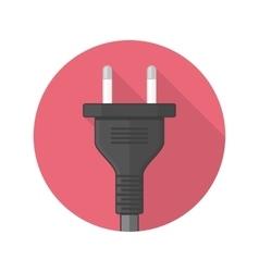 Power plug icon vector