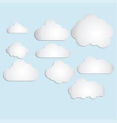 cloud 2 vector image