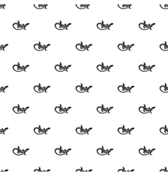 Spotted lizard pattern simple style vector