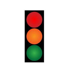traffic light volume 2001 vector image