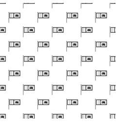 flag of sri lanka pattern vector image