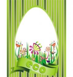 eco design illustration vector image